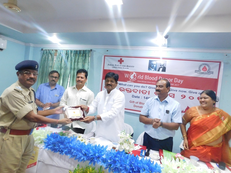Observance of World Blood Donor Day